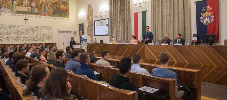 Information Day at the Alba Regia Technical Faculty of Óbuda University