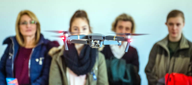 Dual training, drones and Lego robots – Open Day at the Alba Regia Technical Faculty of Óbuda University